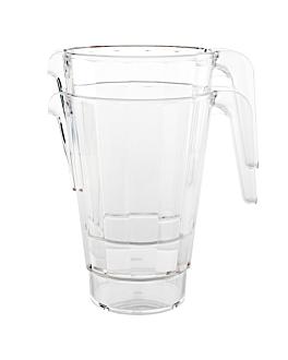 stackable pitchers 1540 ml Ø 13,7x19,8 cm clear polycarbonate (12 unit)