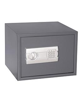 caja caudales 'omega' 38x30x30 cm negro hierro (1 unid.)