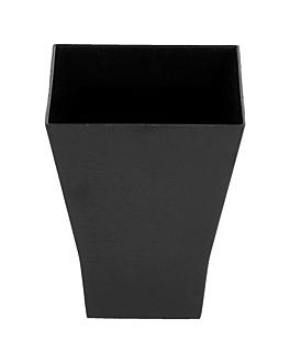 recipiente aperitivos 'bouquet' 60 ml 4,5x4,5x5,5 ml preto ps (576 unidade)