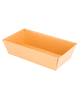 containers 250 + 12,5 pe gsm 13,5x7,5x3,5 cm natural kraft (1000 unit)