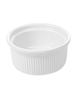 ramequines 120 ml Ø 7,8x3,7 cm blanco porcelana (12 unid.)