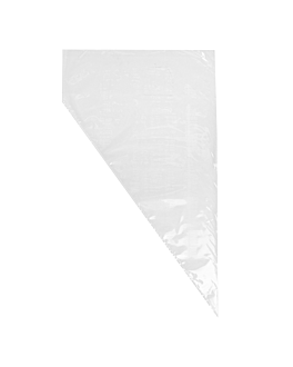 disposable piping bags 75 microns 53,5 cm clear peld (100 unit)