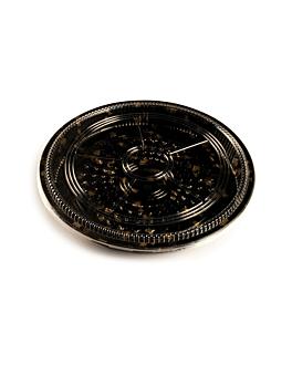 120 contenitoris +coperchi sushi Ø32x5 cm nero ps (120 unitÀ)