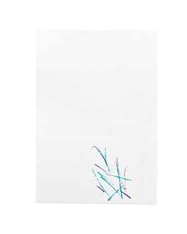 serviettes mini servis ecolabel 1 pli 'volare' 20 g/m2 17x17 cm blanc cellulose (9600 unitÉ)