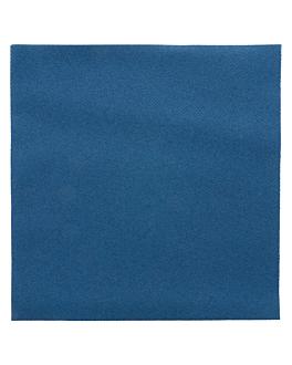serviettes 55 g/m2 40x40 cm bleu marine dry tissue (700 unitÉ)