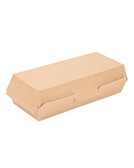 """panini"" boxes 'thepack' 220 gsm 26,5x12,2x7 cm natural nano-micro corrugated cardboard (300 unit)"