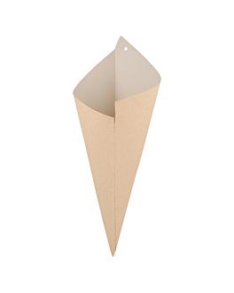 sachets en pointe - biclasse 600 g 125 g/m2 42x29 cm blanc/ecru papel biclase (1000 unitÉ)