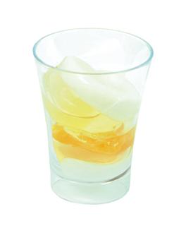 mini glas fÜr vorspeisen 60 ml Ø 5,1x6,5 cm wassergrÜn ps (288 einheit)