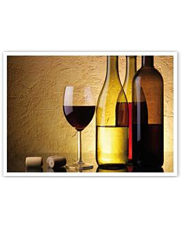 """sets de table offset """"vin"""" 70 g/m2 31x43 cm quadrichromie papier (2000 unitÉ)"""