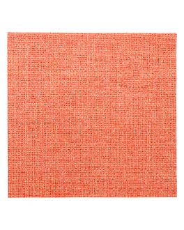 tovallons 'like linen - aurora' 70 g/m2 40x40 cm mandarina spunlace (600 unitat)