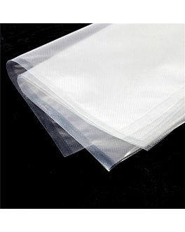 sacchetti sottovuoto, goffrati 180 g/m2 90µ 15x30 cm trasparente pa/pe (100 unitÀ)