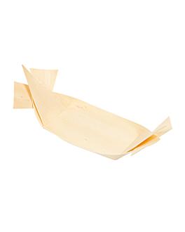 mini rÉcipients pour mise en bouche 16,5x5,5x0,8 cm naturel bois (200 unitÉ)