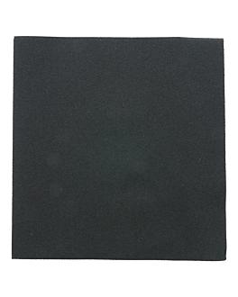serviettes 55 g/m2 40x40 cm noir dry tissue (700 unitÉ)