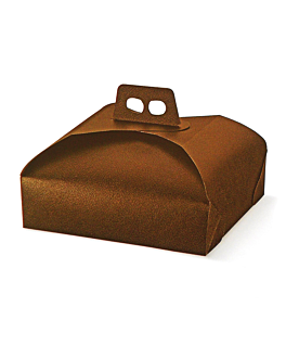 cake for boxes 31x31x7 cm brown cardboard (100 unit)