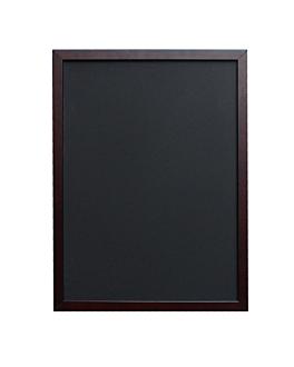 mural blackboard 50x70 cm black wood (1 unit)