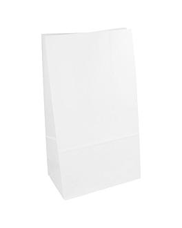 sacchetti sos senza maniglia 70 g/m2 14+8x24 cm bianco cellulosa (1000 unitÀ)