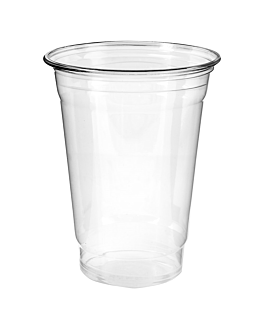 gobelets 375 ml Ø9,2x11 cm transparent pet (1000 unitÉ)