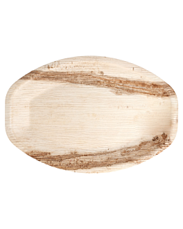 oval dishes 'areca' 33x23x2,5 cm natural areca (200 unit)