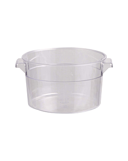 contenitore alimenti 2 l Ø 18,4x10,9 cm trasparente policarbonato (1 unitÀ)