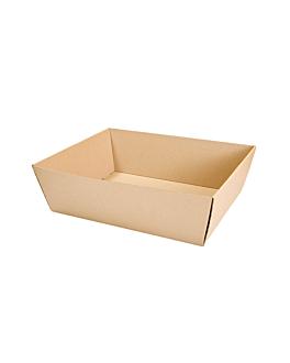 cestas microcanal 382 g/m2 34x20,5x11 cm kraft (20 unid.)