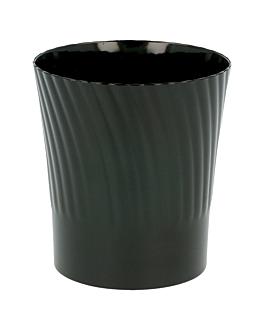 mini glas fÜr aperitif 165 ml Ø 6,5x7,1 cm schwarz ps (432 einheit)