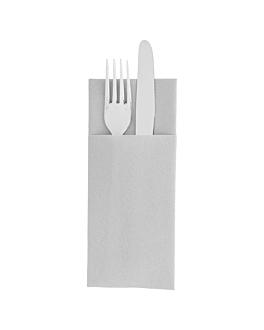 servilletas cangurito 55 g/m2 33x40 cm gris airlaid (700 unid.)