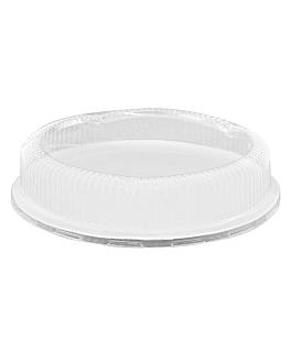 assiettes 'bionic' Ø 23x2 cm blanc bagasse (500 unitÉ)