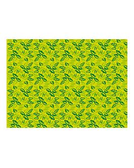 """manteles """"garden"""" 48 g/m2 70x110 verde celulosa (500 unid.)"""