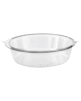 tubs to insert in cup 153.09  clear pet (1000 unit)