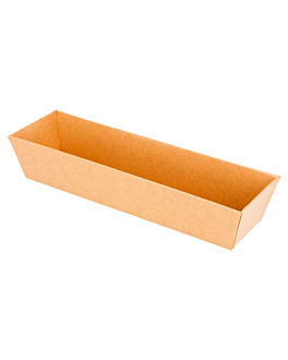 containers 250 + 12,5 pe gsm 18x5,5x3,5 cm natural kraft (1000 unit)