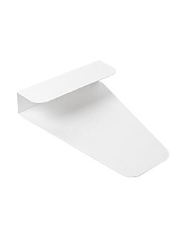 attrape pizza 'thepack' 230 g/m2 12x15,4x2,7 cm blanc carton ondulÉ nano-micro (1600 unitÉ)