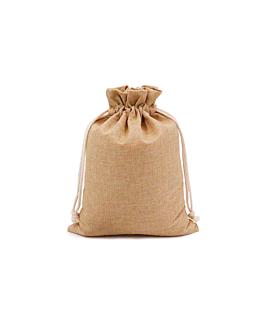 48 u. sacchetti con cordone 12,5x11 cm naturale iuta (1 unitÀ)