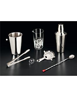 vaso mezclador coctelerÍa 900 ml Ø 10,3x17,4 cm plateado inox (1 unid.)