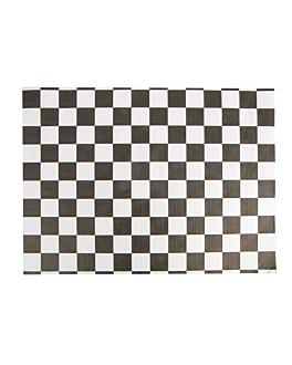 sets de table 'fitipaldi' 48 g/m2 31x43 cm blanc cellulose (2000 unitÉ)
