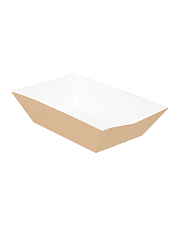 containers 'thepack' 120 g 220 gsm 7,4x4,8x3,3 cm natural nano-micro corrugated cardboard (2400 unit)