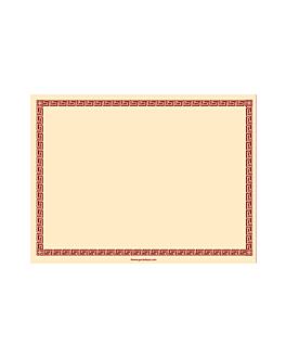 sets de table 55 g/m2 30x40 cm ivoire dry tissue (800 unitÉ)