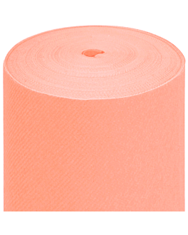tablecloth precut - 60 segments 60 gsm 80x120 cm peach airlaid (4 unit)