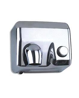 """secador de mÃos manual 58 l"""" 65ºc 24x28x21,5 cm prateado inox (1 unidade)"""