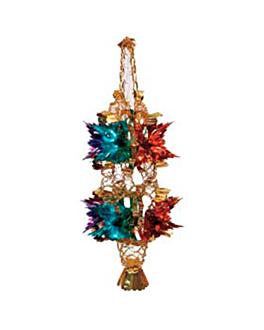 decorazione da appendere 78 cm colori varie (1 unitÀ)