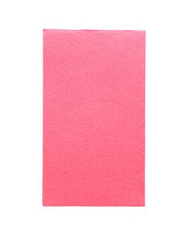 ecolabel napkins f. 1/6 'double point' 18 gsm 33x40 cm fuchsia tissue (2000 unit)