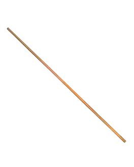 bastoncino per zucchero filato Ø 0,4x40 cm naturale bambÙ (50 unitÀ)