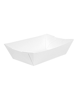 containers 'thepack' 180 g 230 gsm 9,2x5,3x3,4 cm white nano-micro corrugated cardboard (2000 unit)