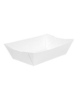 barquettes 'thepack' 180 g 230 g/m2 9,2x5,3x3,4 cm blanc carton ondulÉ nano-micro (2000 unitÉ)