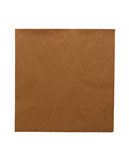 napkins ecolabel 2 ply 18 gsm 39x39 cm havana tissue (1600 unit)