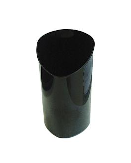 recipiente para aperitivos cilindro 80 ml 4,7x4,7x8,1 cm preto ps (600 unidade)