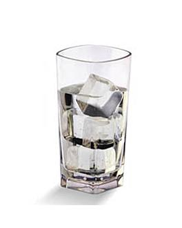 bicchieri base quadrata 372 ml Ø 7,2x14,5 cm trasparente policarbonato (72 unitÀ)
