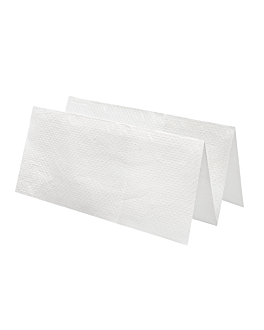 hand towels 2 ply zig-zag 21x22,5 cm white tissue (4000 unit)