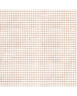 toalhas de mesa dobradas m 'like linen - vichy' 70 g/m2 120x120 cm taupe spunlace (200 unidade)