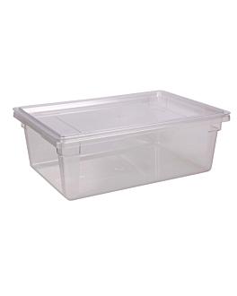 contenidor aliments 45 l 66x46x23 cm transparent policarbonat (1 unitat)