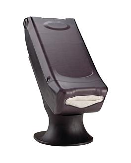 dispensador master servis para 600 servilletas 44x20,3x33 cm negro abs (1 unid.)